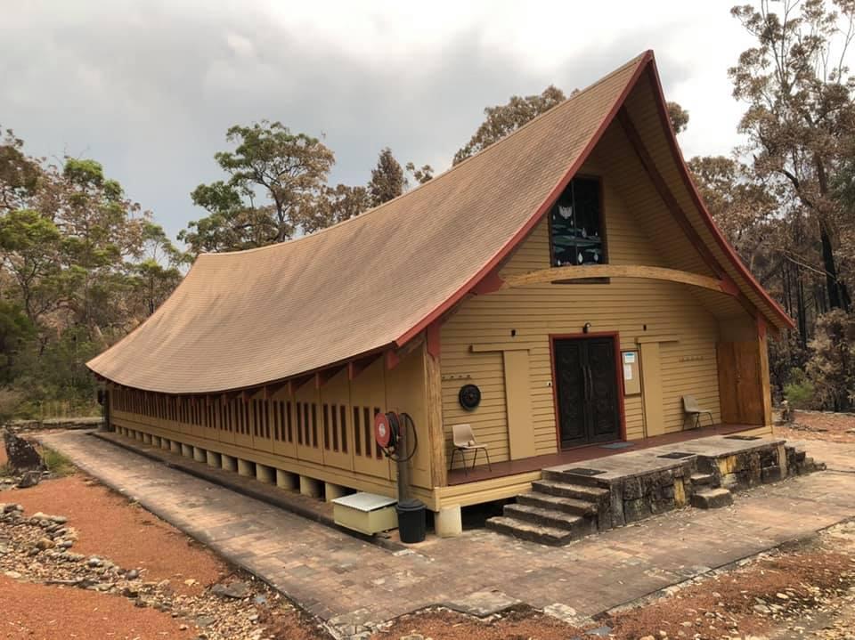 อัศจรรย์! โบสถ์วัดไทยรอดไฟป่าออสเตรเลีย